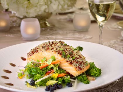 Food is Art - Salmon | Royal Sonesta Harbor Court Baltimore