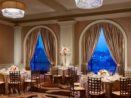 Whitehall Ballroom Rounds Set Up | Royal Sonesta Harbor Court Baltimore