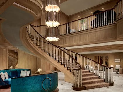 Lobby Stairs | Royal Sonesta Harbor Court Baltimore