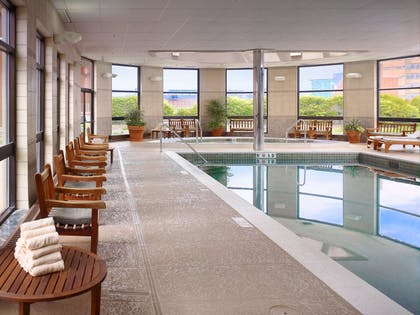 Indoor Saltwater Swimming Pool | Royal Sonesta Harbor Court Baltimore
