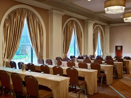 Whitehall Ballroom Classroom Set Up | Royal Sonesta Harbor Court Baltimore