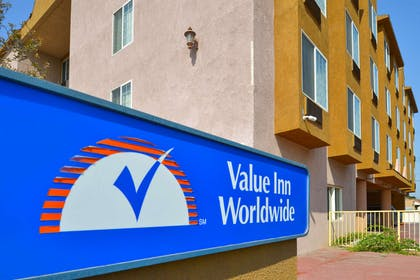 Exterior of HOtel | Value Inn Worldwide Inglewood
