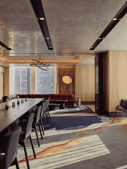 Electric Lemon Private Dining Meeting Space | Equinox Hotel Hudson Yards New York City