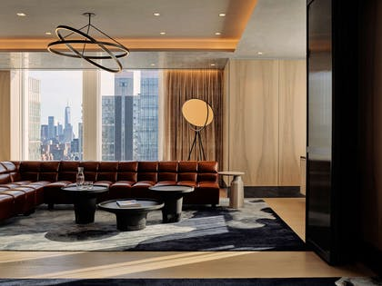 Electric Lemon Private Dining Lounge Space | Equinox Hotel Hudson Yards New York City