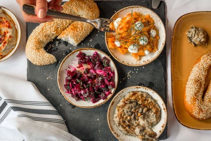 Food from the restaurant | YOTEL New York