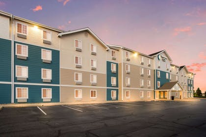 Hotel exterior | WoodSpring Suites Indianapolis Lawrence