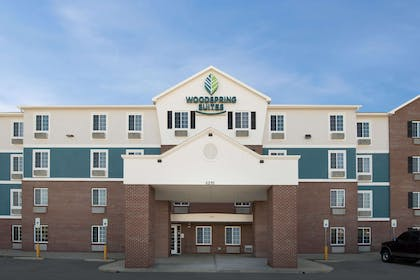 Hotel exterior | WoodSpring Suites Indianapolis Plainfield
