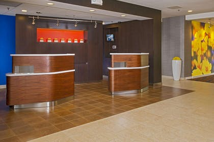 Welcome pedestals | Courtyard by Marriott Charlotte University Research Park