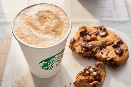 Bistro signature Starbucks latte | Courtyard by Marriott Charlotte University Research Park