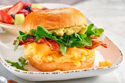 breakfast sandwich | Courtyard by Marriott Charlotte University Research Park