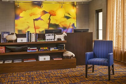 Business library | Courtyard by Marriott Charlotte University Research Park