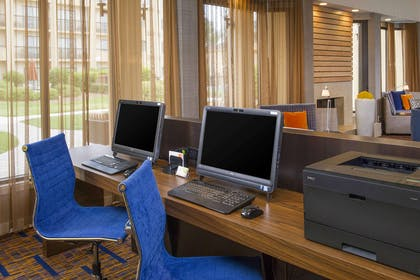 Business center | Courtyard by Marriott Charlotte University Research Park