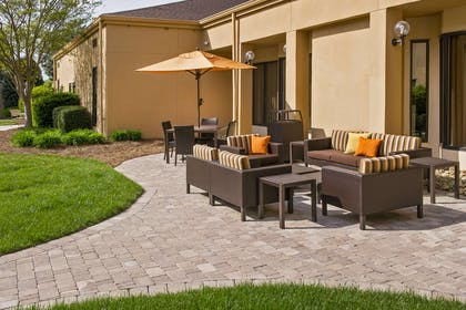 Patio | Courtyard by Marriott Charlotte University Research Park