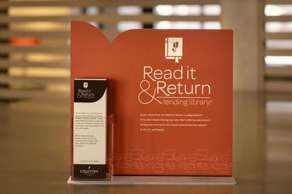 Read it & Return Library   Country Inn & Suites by Radisson, Washington at Meadowlands, PA