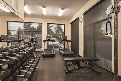 Fitness Center | Radisson Hotel and Conference Center Rockford