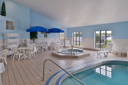 Pool Area | Country Inn & Suites by Radisson, Fargo, ND