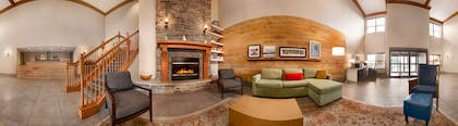 Living Room | Country Inn & Suites by Radisson, Portage, IN