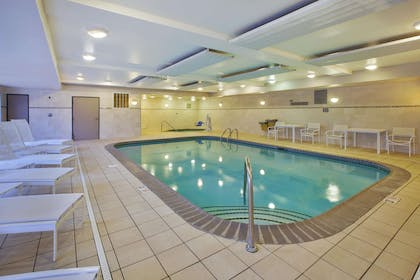 Pool and Accessible Hot Tub | Country Inn & Suites by Radisson, Big Rapids, MI