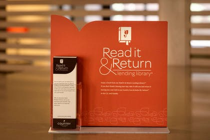 Read it & Return Library | Country Inn & Suites by Radisson, New Braunfels, TX
