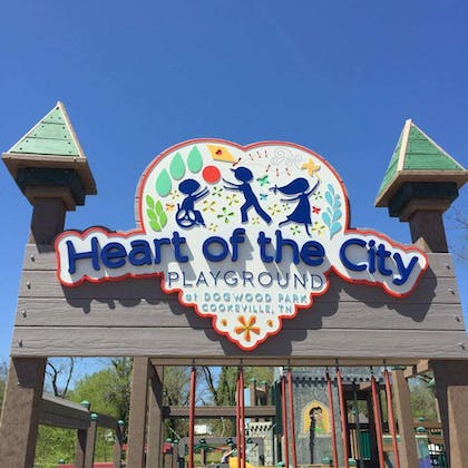 Heart Of The City Playground   Country Inn & Suites by Radisson, Cookeville, TN