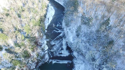 Cummings Falls in Winter   Country Inn & Suites by Radisson, Cookeville, TN