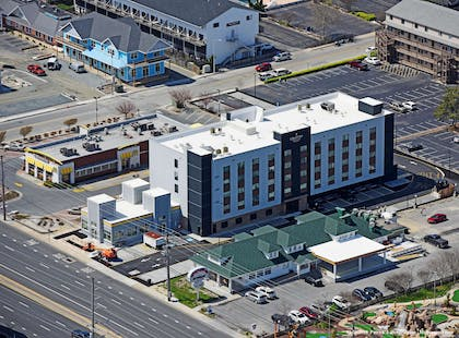 Aerial Exterior | Country Inn & Suites by Radisson, Ocean City, MD