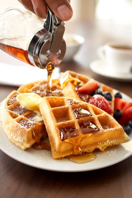 Breakfast Waffles   Country Inn & Suites by Radisson, Portland Delta Park, OR