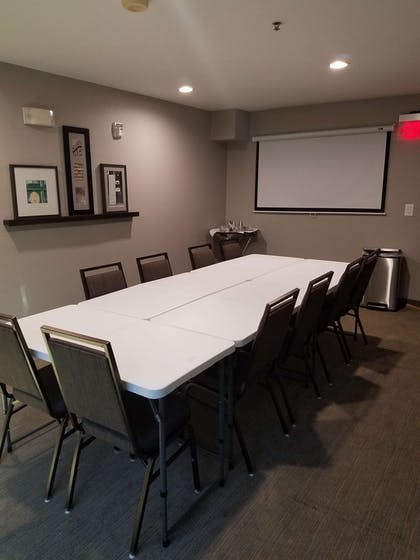 Boardroom-style Seating with Screen | Country Inn & Suites by Radisson, San Antonio Medical Center, TX