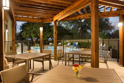 Outside Patio | Country Inn & Suites by Radisson, San Antonio Medical Center, TX
