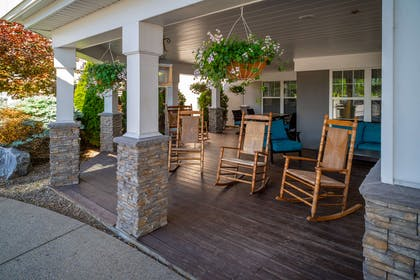 Exterior sitting area | Country Inn & Suites by Radisson, Beckley, WV