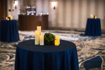 Nashville ballroom reception setup | Nashville Airport Marriott