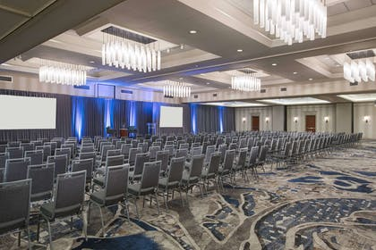 Nashville ballroom theater setup | Nashville Airport Marriott
