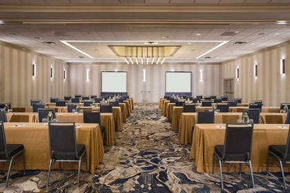 Capital ballroom classroom setup | Nashville Airport Marriott