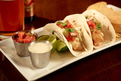 Champions fish tacos | Nashville Airport Marriott