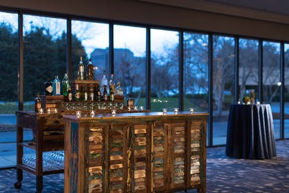 Nashville ballroom pre function area reception setup | Nashville Airport Marriott