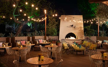 The Front Yard Patio | The Garland