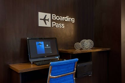 Boarding pass station | AC Hotel by Marriott San Francisco Airport Oyster Point/Waterfront