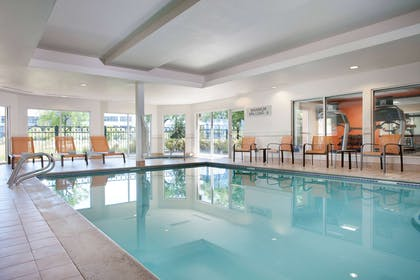 Indoor pool | AC Hotel by Marriott San Francisco Airport Oyster Point/Waterfront