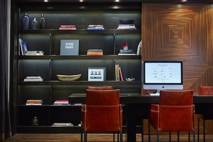 Lobby - Business Center   Shelburne Hotel & Suites by Affinia