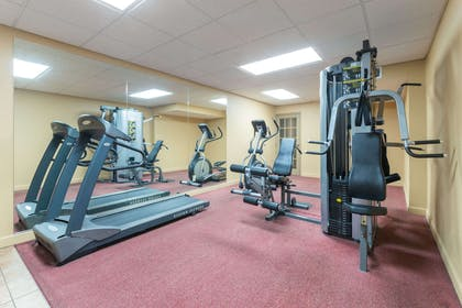 Fitness Center | Ramada Hotel & Convention Center by Wyndham Topeka Downtown