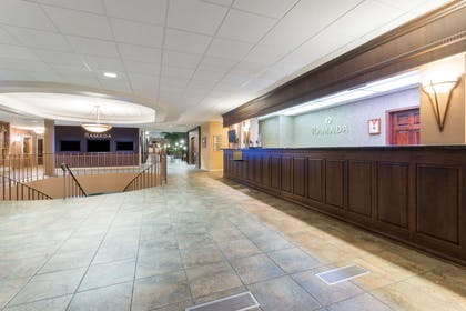 Front Desk | Ramada Hotel & Convention Center by Wyndham Topeka Downtown