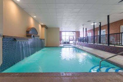 Pool | Ramada Hotel & Convention Center by Wyndham Topeka Downtown