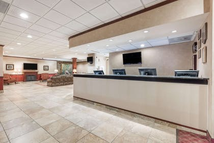 Lobby   Ramada Hotel & Conference Center by Wyndham State College