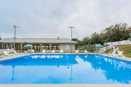 Pool   Ramada Hotel & Conference Center by Wyndham State College