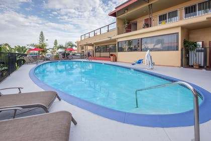 Pool Area | Ramada by Wyndham San Diego Airport