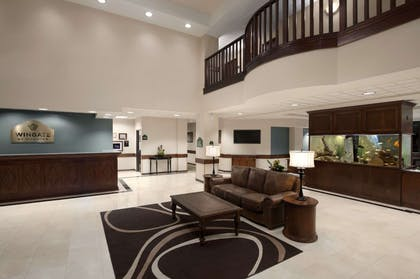 Lobby | Wingate by Wyndham Round Rock Hotel & Conference Center