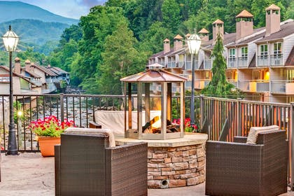 Fire pit Area | Baymont by Wyndham Gatlinburg On The River