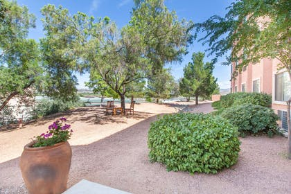 Patio | Days Inn by Wyndham Camp Verde Arizona