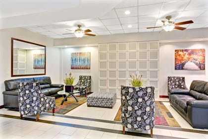 Lobby | Ramada by Wyndham Salt Lake City Airport Hotel