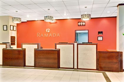 Front Desk | Ramada by Wyndham Salt Lake City Airport Hotel